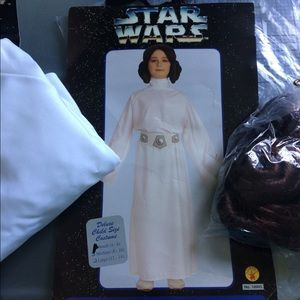 Princess Leia Costume and Light Saber